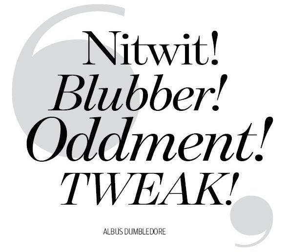 Albus Dumbledore a few words miscarriage
