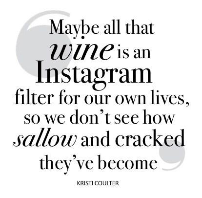 Wine quote NO border