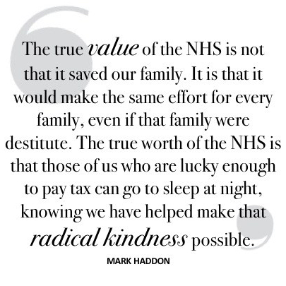 NHS quote